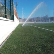 Proyecto de riego por cañón de campo de fútbol 11 artificial